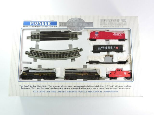Bachmann E-z Track Silver Series HO Scale Pioneer Pennsylvania Train Set  01111