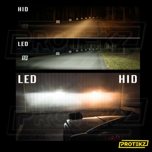 LED Headlight Kit Protekz H13 9008 High /& Low 6000K for Dodge Caliber 2007-2012