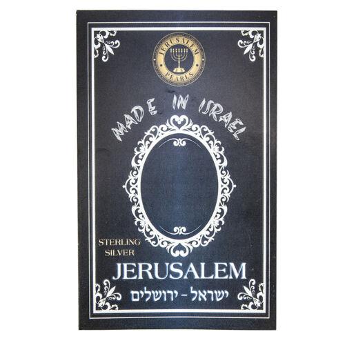 Silver 925 New Mini Priestly Breastplate Hoshen Pendant Israel 12 Tribes Symbol