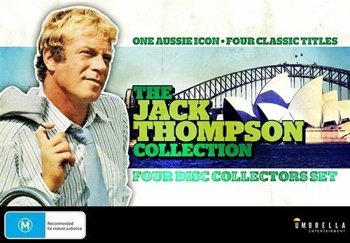 The Jack Thompson Collection ( 4 Disc Set ) Brand New Australian Release