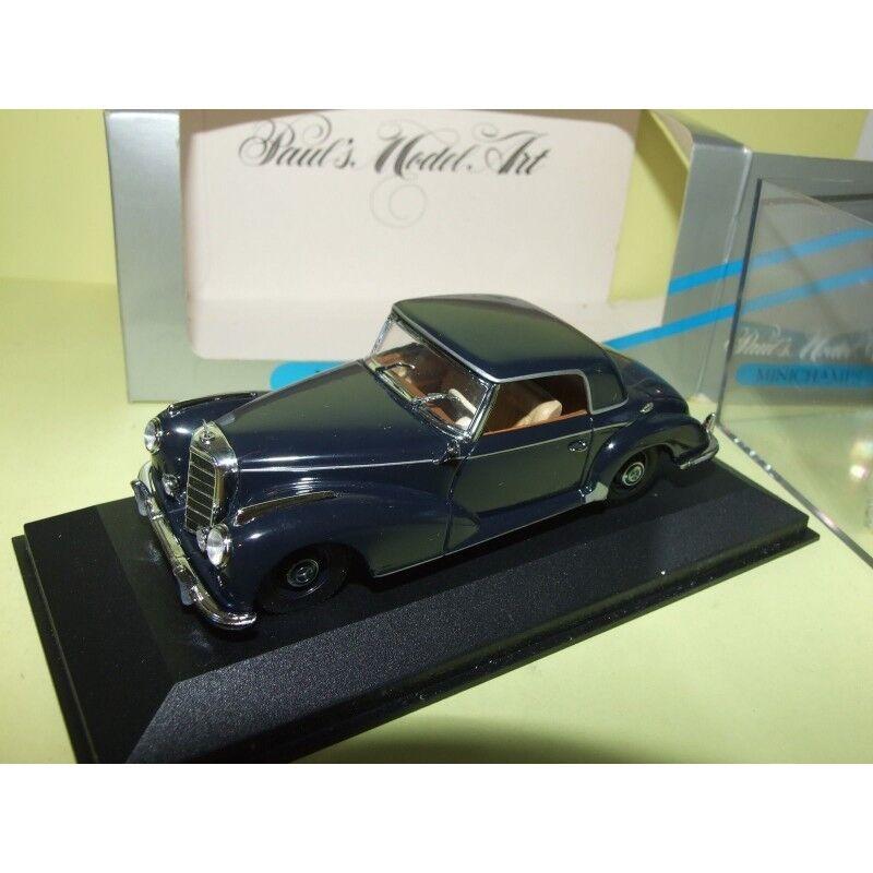 MERCEDES 300 S COUPE 1951-1955 bleu Bleu MINICHAMPS 1 43