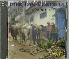 Por Las Veredas De Mi Tierra Volume 2 Latin Music CD New