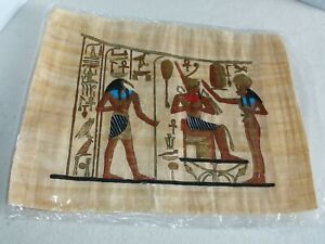 USED-BUT-IN-ORIGINAL-PKG-Genuine-Egyptian-Papyrus-Prints-approx-12-034-x16-034