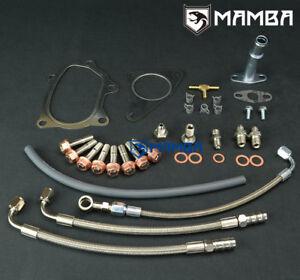 Turbo Oil /& Water Line Kit SUBARU IMPREZA Forester XT EJ20 WRX TF035HM TD04L 13T