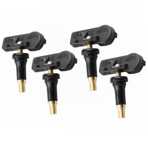 Kit 4 Tire Pressure Monitoring Sensor TPMS For Cadillac CTS DTS Chevy Equinox
