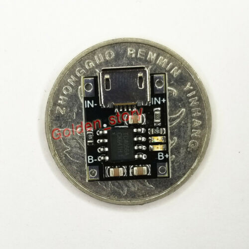 1S 3.7V Cell Lipo Lithium Li-ion Battery Micro USB Charger Protection Module DIY