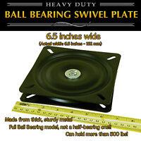 1pc - 6.5 Inch (162mm) Full Ball Bearing Flat Swivel Plate Lazy Susan Turntable