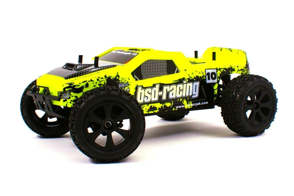 BSD Racing 4WD 1 10 Flux Onslaught V2 Camión