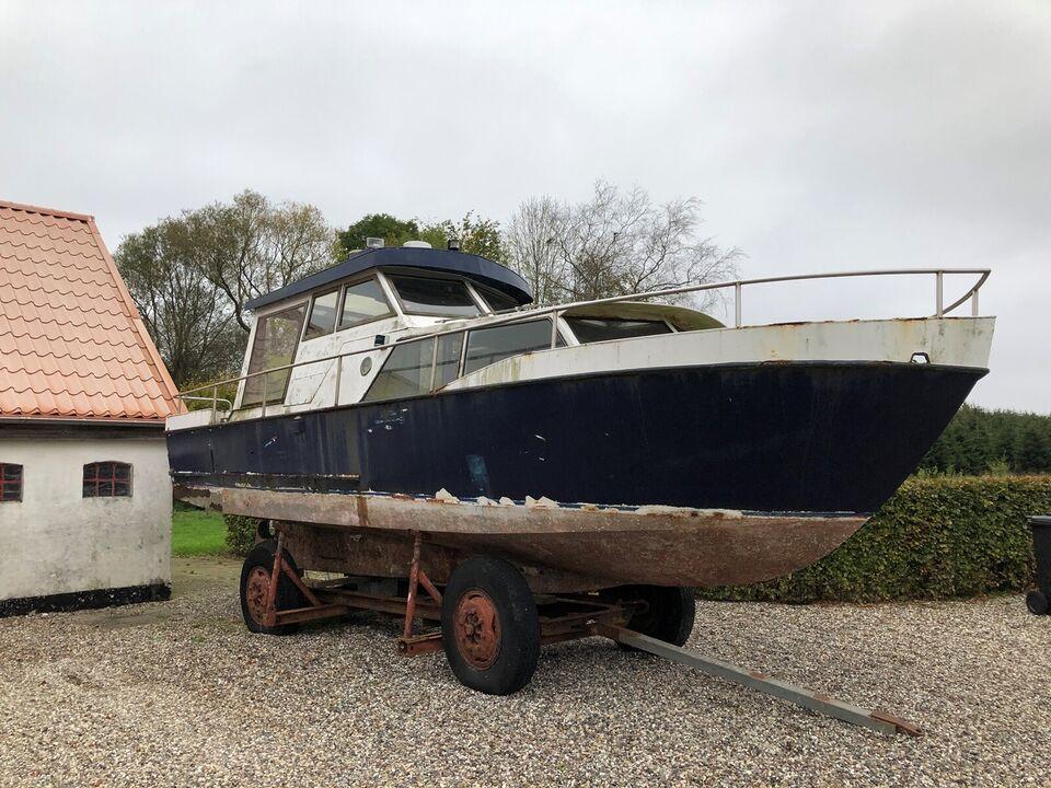 30 fods motorbåd - projekt