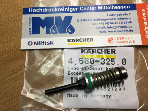 Kärcher Überströmer Ueberstroemer kpl excess-current 4.580-325.0