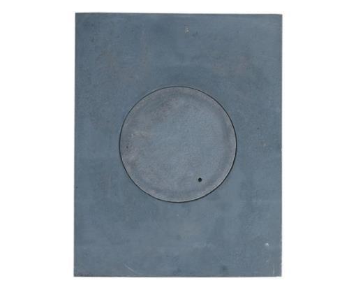 GUSSPLATTE PLATTE NOTEN KÜCHE OFEN 1-LOCH GUSSEISEN 36X46CM CAST IRON GRAUGUSS