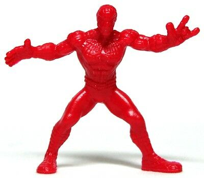 Spider-Man B Standing Solid Red Hasbro Marvel Handful of Heroes Wave 1
