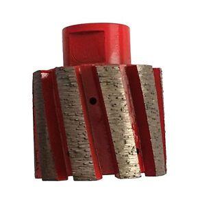 "2 x 1-3/4"" Zero Tolerance Diamond Drum Wheel/Sink Hole Granite Stone Concrete"