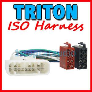 mitsubishi triton pin iso wiring harness adaptor cable image is loading mitsubishi triton 16 pin iso wiring harness adaptor