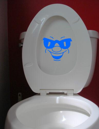 FACE .. TOILET BATHROOM WALL QUOTE VINYL DECOR STICKER DECAL STENCIL GRAPHIC