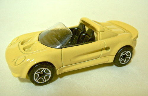 Matchbox 1-75 SF mb440 Lotus Elise Pre-Pro Yellow from Resin