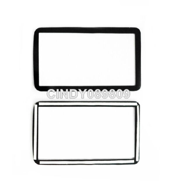 New Top Small Outer LCD Screen Window Glass For Nikon D7100 with Adhesive Tape