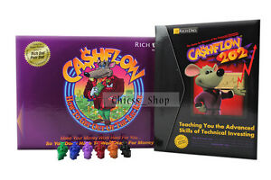 New-Cashflow-Rich-Dad-101-amp-202-Boardgame-Robert-Kiyosaki-Free-Ship-Australia
