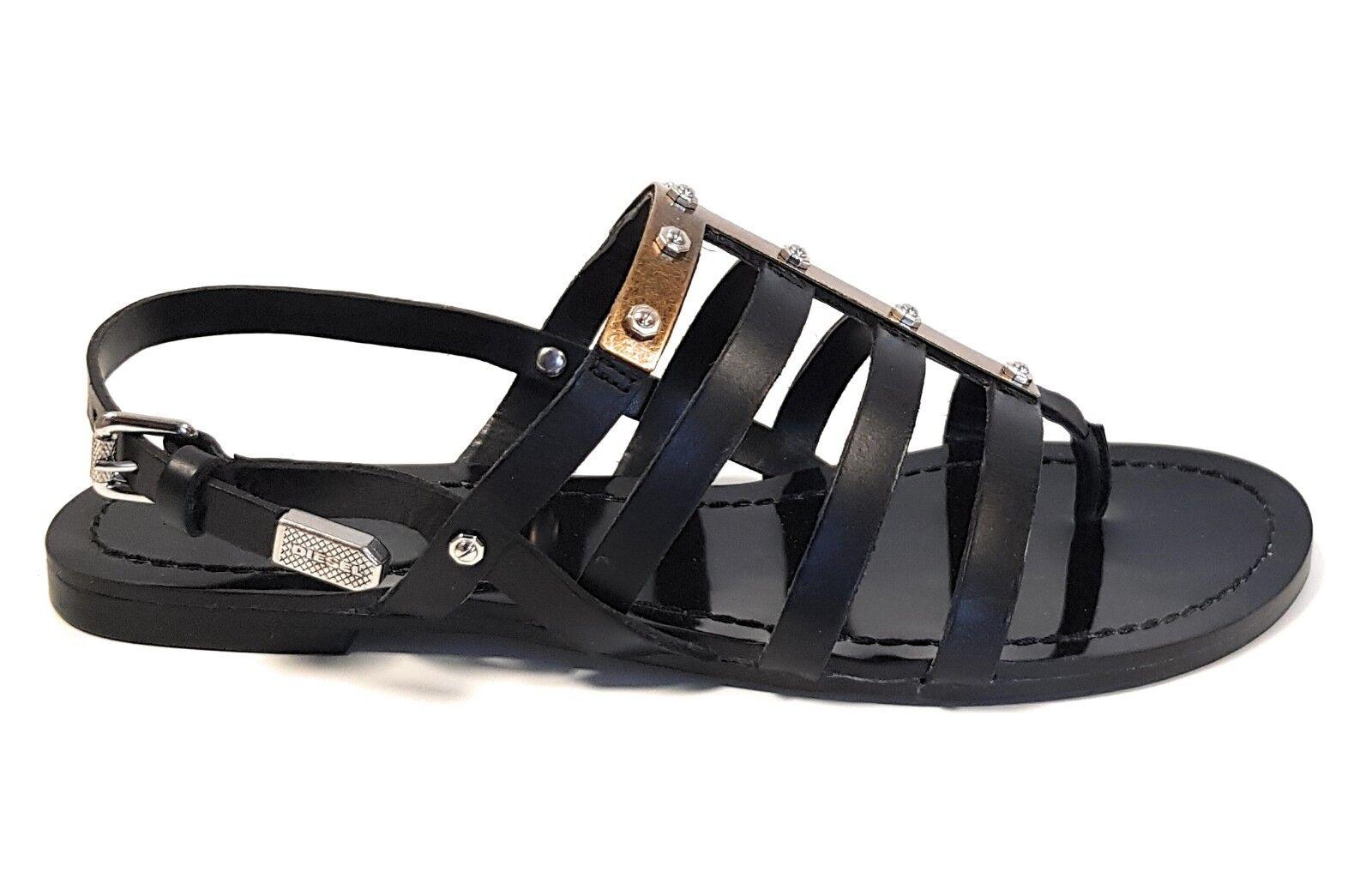 Diesel D-Anna Sandalen Y0113 PR013 T8013 Sandaletten Sandalen Damen Schuhe Z1