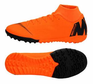 8e4be791405 Nike Mens SuperflyX 6 Academy TF Orange black (AH7370-810) SZ 13