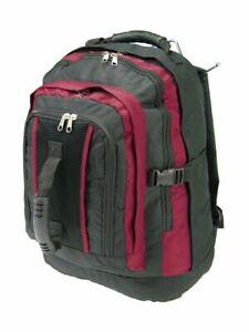 UK Men/'s Boys Large Backpack Rucksack Fishing Sports Travel Hiking School Bag