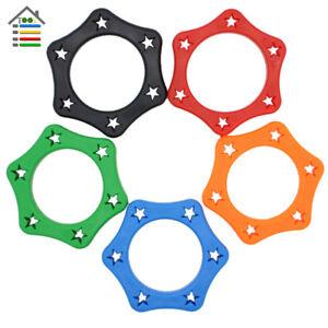 5PCS-Plastic-Mic-Microphone-Anti-Slip-Roller-Ring-Rolling-Wireless-Holder