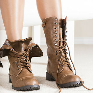 Elegant Style  Mid Calf Boots Heel Height  1 Color  Tan  Combat Boots Are Indestructible Which Is Very Helpful When The Clock Charmer Has To Travel Through Time They Feel Light When Worn, But Are Heavy Enough To Kick An Man Off A Cliff Frye