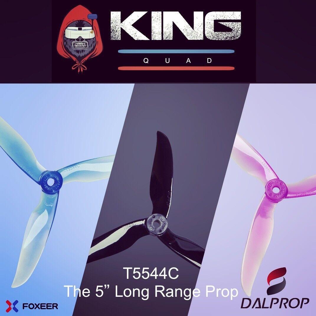 """DAL T5544 5"""" Freestyle/Long Range Tri Blade Propelles (x2CW x2 CCW)"""