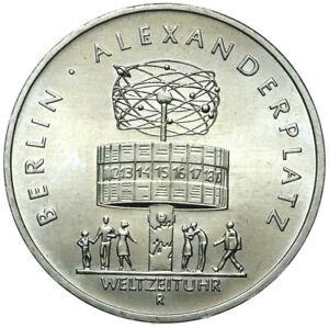 Gedenkmuenze-DDR-5-Mark-1987-A-Alexanderplatz-Berlin-Stempelglanz-UNC
