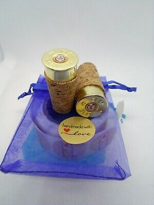Cheddite italia shotgun cartridge cap wine bottle stopper Gold copper Ideal Gift