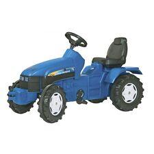 Rolly Toys New Holland TD 5050 Traktor ohne Frontlader Trettraktor blau