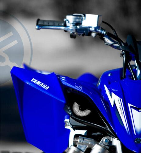 YAMAHA HEADLIGHT DECALS STICKER ATV 4 WHEELER  RAPTOR YZF R 250 350 450  700 4