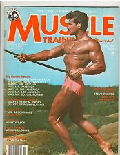 Muscle Training Dan Lurie Bodybuilding Fitness Magazine STEVE REEVES 11-77