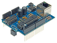 KIT ARDUINO SERVEUR WEB INTERNET RJ45 RESEAU ETHERNET SHIELD BOUCLIER EN KIT