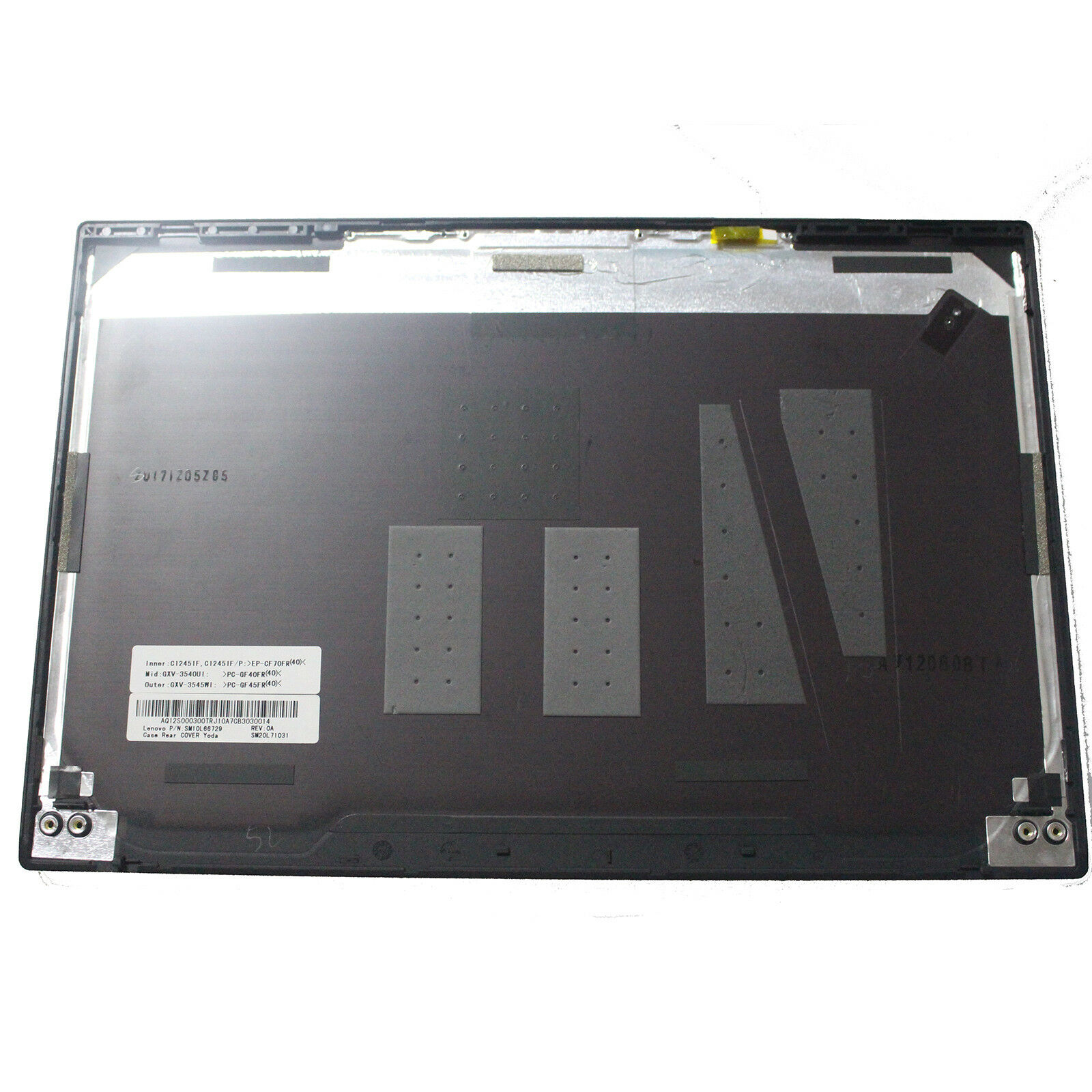 Laptop Replacement LCD Rear Top Lid Back Cover for Lenovo Thinkpad X1 Carbon 5th 20HR 20HQ Top Lid Plastic LCD 01LV476