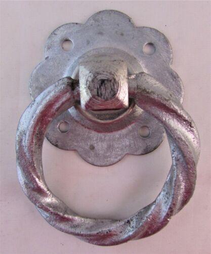 "6/"" Galvanisé BZP TWIST GARDEN Ring Gate Latch Door Catch Poignée de clôture en métal D7"