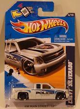 2012 Hot Wheels HW Main Street '12 Chevy Silverado Police City of Yuma VHTF!!