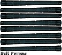 Eight (8) Tacki-mac Arthritic Serrated Standard Black Golf Grips-mens Grip-0.580
