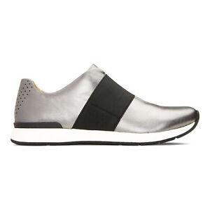 Codie Casual Sneaker in Pewter Metallic