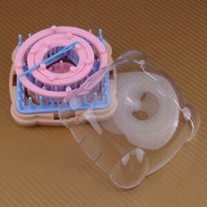 9PCS Blumen Knitting Loom-Blumen-Muster Maker Wolle Garn Nadel-Strickhandwe