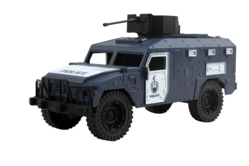 Deluxe Police Action Toy Playset-Figurine camion et plus TA-61 hélicoptère