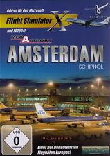Mega Airport Amsterdam-Schiphol   Flight Simulator X & 2004 AddOn Flugsimulator