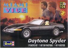 Revell Miami Vice Daytona Spyder Plastic Model Kit Scale 1 24