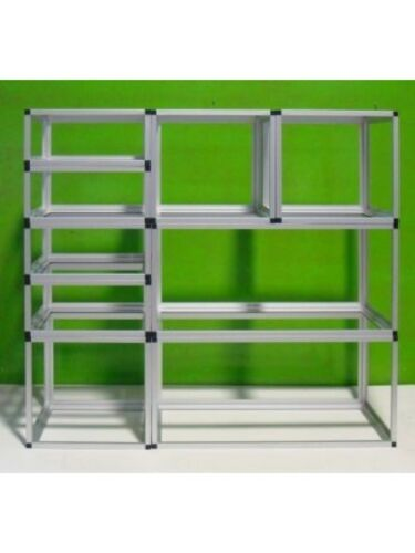 Profilo Alluminio Per Scaffali e Strutture Modulari Componibili