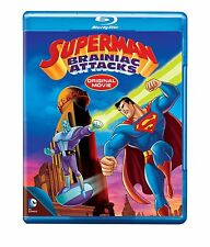 SUPERMAN : BRAINIAC ATTACKS (DC Animation)  Blu Ray - Sealed Region free for UK