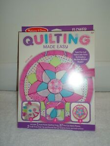 Details About New Melissa Doug Quilting Made Easy Flower