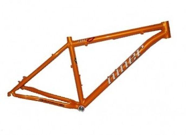 NINER Rahmen Hardtail Air 9 Scandium 29 Zoll, Mountainbike MTB Tang Orange l 19