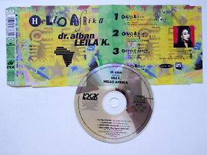 DR. ALBAN FT LEILA K * Hello Afrika * VG (SINGLE-CD)