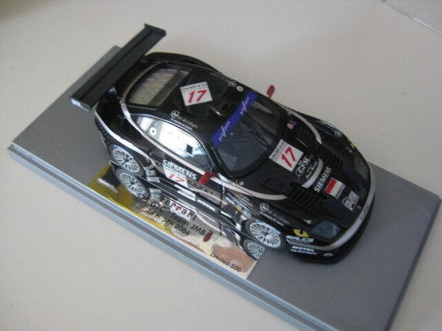 BBR/GASOLINE Ferrari 575 GTC 24h SPA 2004 Team JMB CAR NR 17 1:43 NUOVO IN SCATOLA ORIGINALE
