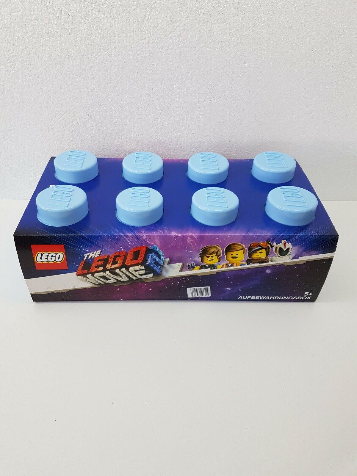 Lego Stapelbox XXL 8 Noppen in Hellblau Neu und OVP